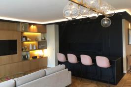 Rénovation d'un appartement boulevard Suchet- Paris XVI