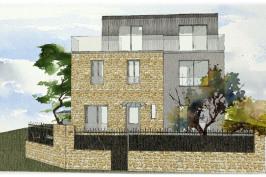 Extension et surélévation d'une maison à Saint-Maur-Des-Fossés