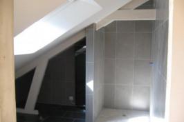 Transformation d'un grenier en appartement et création d'une terrasse dans la toiture