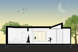 Extension d'une maison à Mérignac