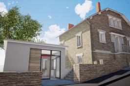 Réaménagement d'une maison d'habitation et Création d'un cabinet d'Orthophonie