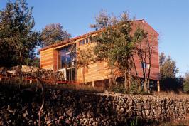 Maison sur les terrasses