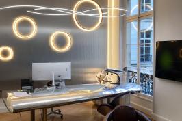 Réaménagent des bureaux de BT IMMO - Paris VIII