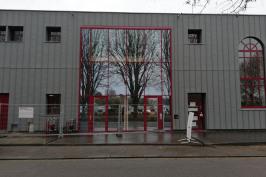 Rénovation de la façade de la Régie d'électricité d'Elbeuf