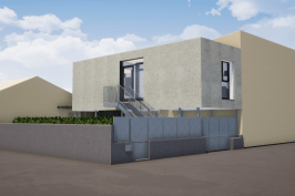 Extension habitation  / garage