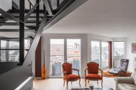 Rénovation d'un grand appartement à CROIX  59 170_Jean-Philippe AUGUSTO Architecte