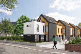 Construction de 4 maisons de ville
