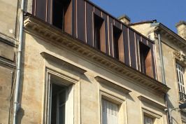 Surélévation maison de ville Bordeaux