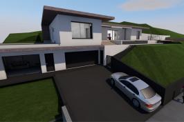 Création d'une villa