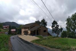 Construction d'une maison à Serraval (74)
