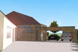 Extension d'une maison individuelle