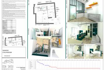 Restructuration appartement