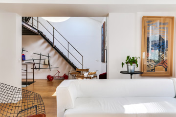 150 m²-Transformation d'une imprimerie en maison familiale
