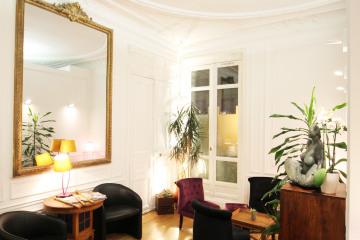 Réhabilitation d'un appartement haussmanien en cabinet dentaire