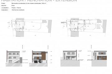 Rénovation et extension d'une maison de ville