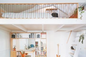 Aménagement de combles et rénovation d'un appartement