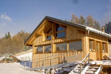 Extension chalet bois