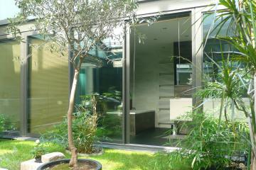 Maison à patio