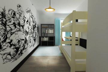 Appartement 85 m2 Paris XX