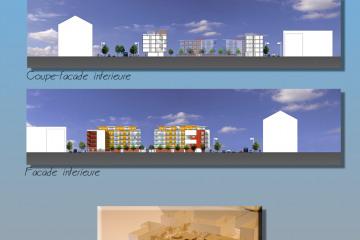 restructuration et aménagement d'une friche industrielle en nouveau quartier
