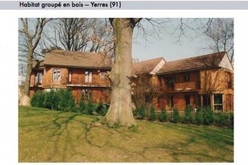 Habitat groupé en bois