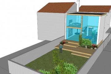 Extension d'une maison D