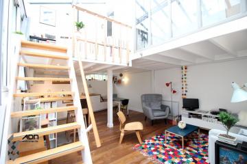 Réhabilitation d'un loft parisien de 50m²