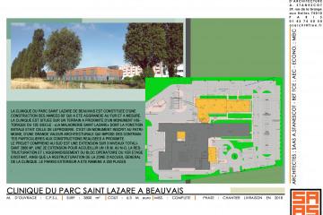 EXTENSION ET RESTRUCTURATION DE LA CLINIQUE DU PARC ST. LAZARE