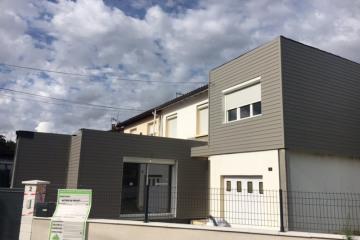 Surélévation et extension d'une habitation existante