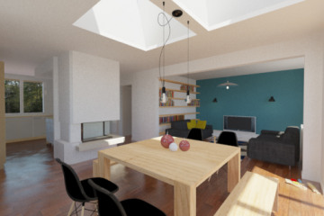 Rénovation intérieure d'une maison