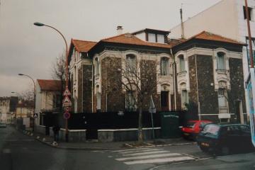 réhabilitation complète d'une ancienne maison de maître et de son annexe à Malakoff