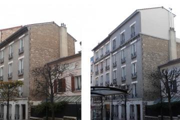 surélevation et restructuration d'un immeuble