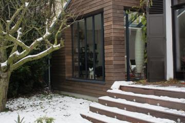 restructuration et extension d'une pavillon
