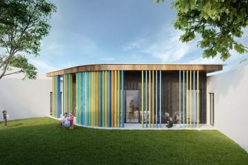 Extension d'une école maternelle