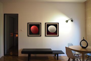 Rénovation d'un appartement haussmannien 2 dans un style moderne