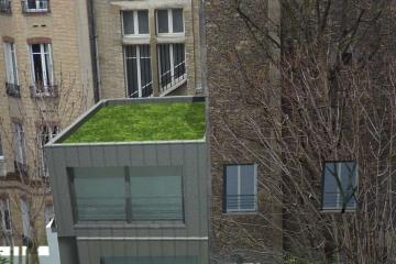restructuration et extensiond'un appartement à Paris 17e