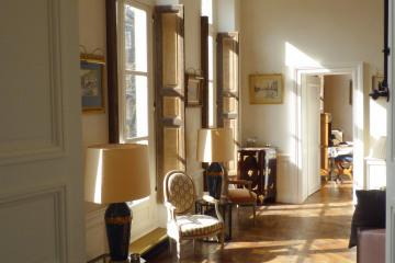 restructuration d'un étage  dans un hôtel particulier du XVIIIe