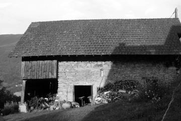 Transformation d'une grange de montagne en habitation