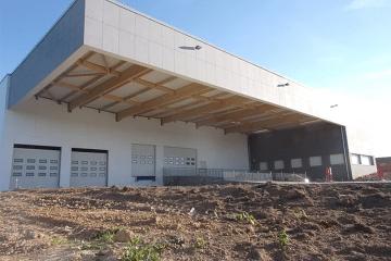 CONSTRUCTION D'UNE BASE LOGISTIQUE