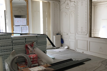 Rénovation d'un appartement  rue  de Lincoln - Paris VIII