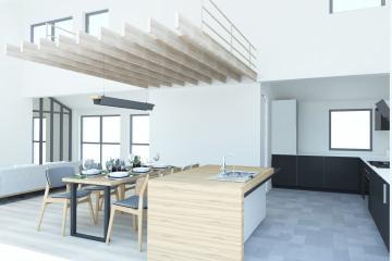 Surélévation appartement triplex Z