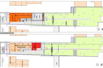 Construction d'une extension en zinc et enduit à Vitry-Sur-Seine ( Pc en cours)