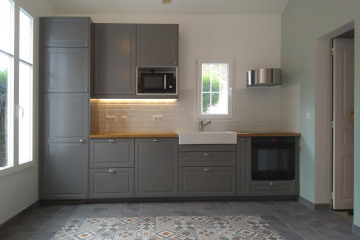 Rénovation thermique et réaménagement d'une maison à Noisy-Le-GRAND
