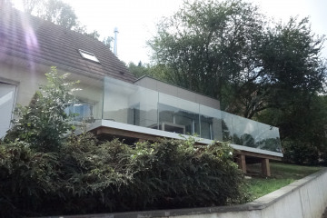 extension et terrasse maison B