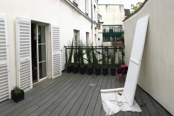 Création et aménagement d'une terrasse- Saint Mandé (94)