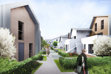 SY31 - construction de 82 logements - bussy st georges