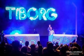 Scénographie concert Tiborg