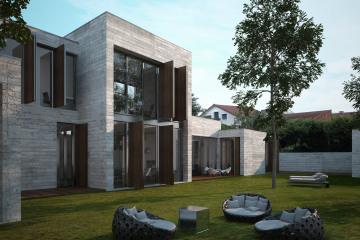 Maison Patio en Béton - RT 2012