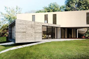 Maison en Béton - Maison X