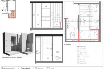 Rénovation cuisine+salle de bains